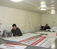 PVC Banner Finishing